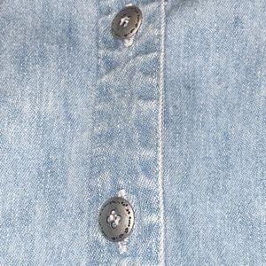Studio Ease Tops - STUDIO EASE Light blue denim shirt, size 18W